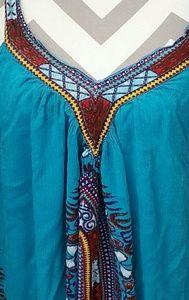Bohemian style sun dress